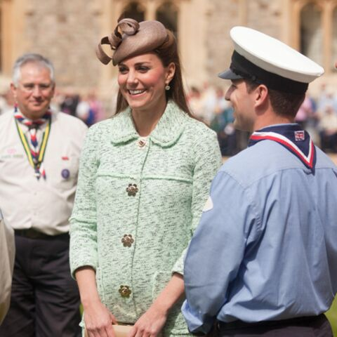 Photos- Kate Middleton à Windsor avec les scouts