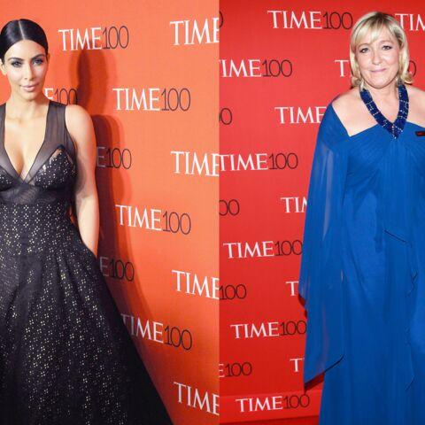 Marine Le Pen et Kim Kardashian, le tapis rouge improbable