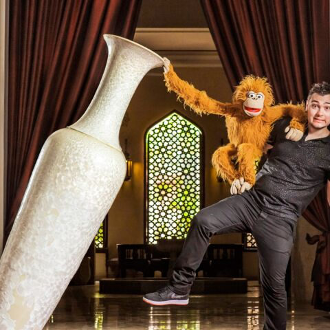 Jeff Panacloc, ventriloque rock'n'roll