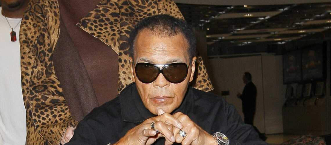 Mohamed Ali a été hospitalisé