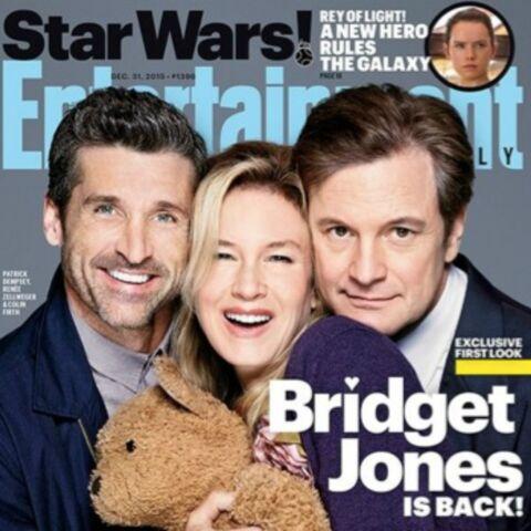 Bridget Jones & ses deux amours s'affichent en Une