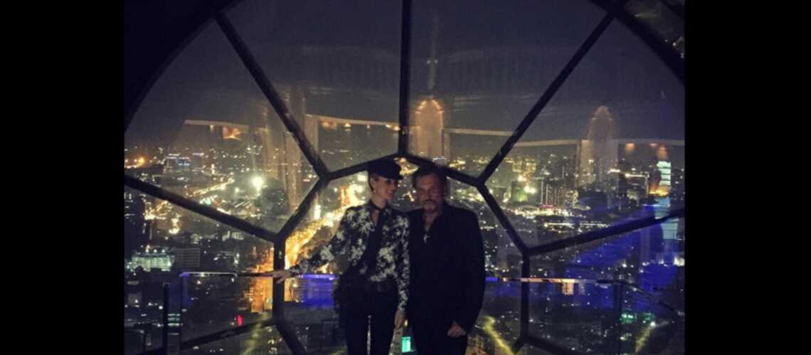 Photos – Les vacances de Johnny et Laeticia Hallyday en Thaïlande