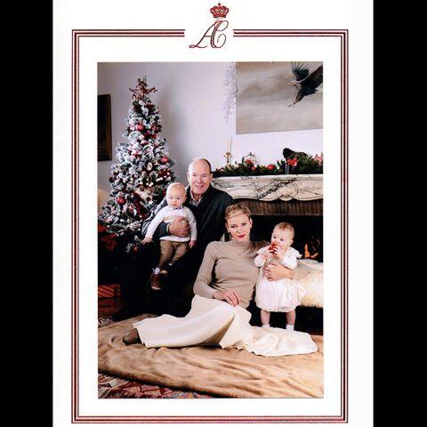 La famille princière de Monaco à l'heure de Noël