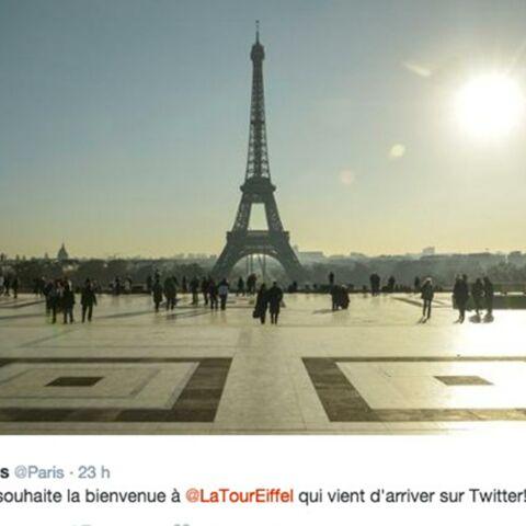Qui se cache derrière la Tour Eiffel sur Twitter?
