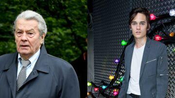 Alain Delon: son fils Alain-Fabien serait ruiné et ingérable