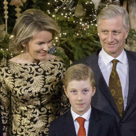 PHOTOS – Le roi Philippe et la reine Mathilde, avec leurs enfants au concert de Noël