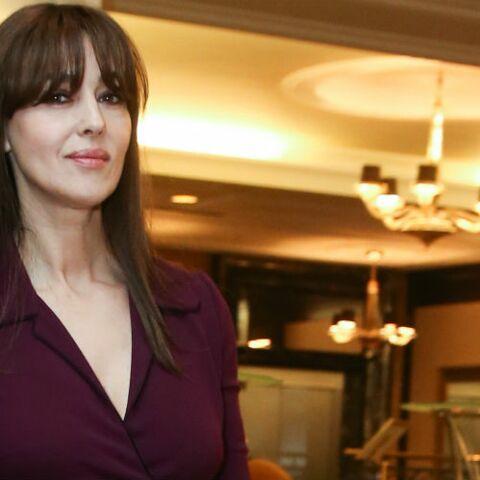PHOTOS – Monica Bellucci, 52 ans, époustouflante dans une robe noire pourtant simplissime