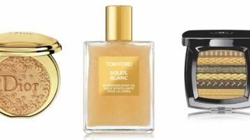 De l'or pour un maquillage sophistiqué