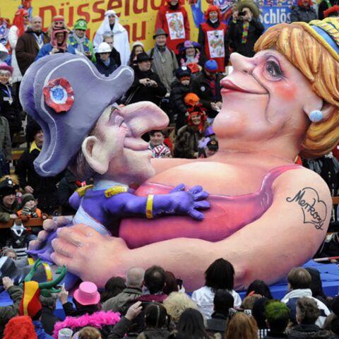 Photos- Nicolas Sarkozy et Angela Merkel, stars des carnavals