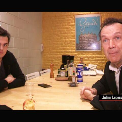 Julien Lepers: le tendre hommage de son fils
