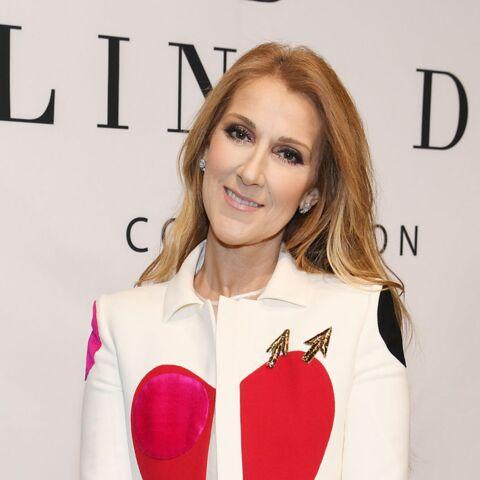 PHOTOS – Céline Dion ose les cuissardes rouges au lancement de sa marque d'accessoires
