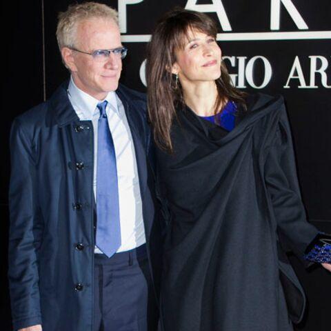 Sophie Marceau et Christophe Lambert, les amoureux d'Armani