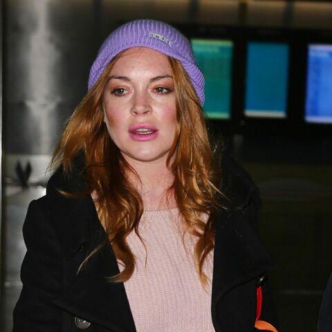 Lindsay Lohan rattrapée par une piqûre de moustique