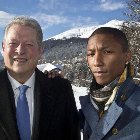 Davos: Pharrell Williams et Al Gore annoncent le concert du siècle
