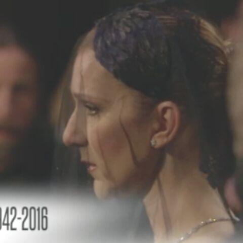 Céline Dion: la digne procession d'une amoureuse