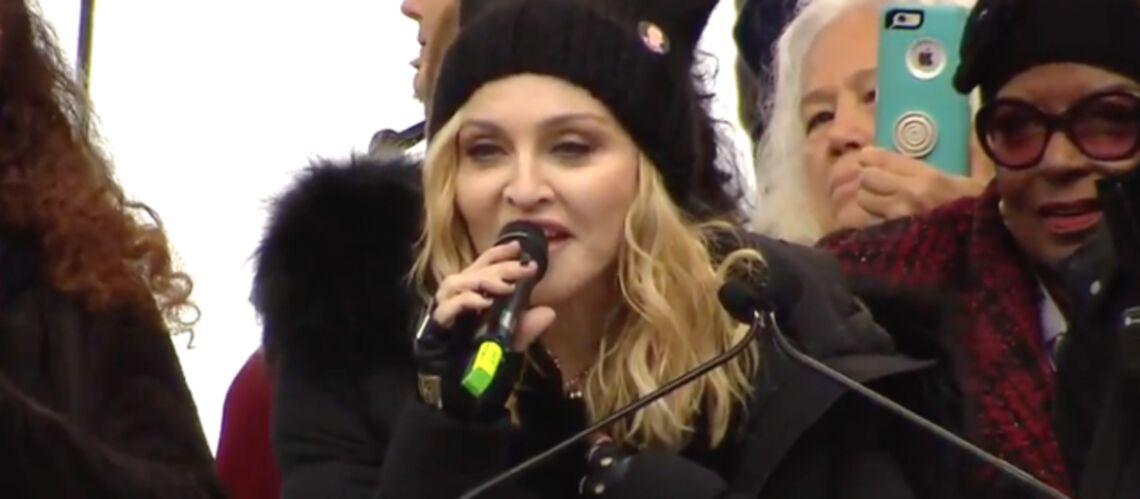 VIDEO – Lors de la Marche des Femmes, Madonna insulte en direct Donald Trump, CNN coupe l'antenne