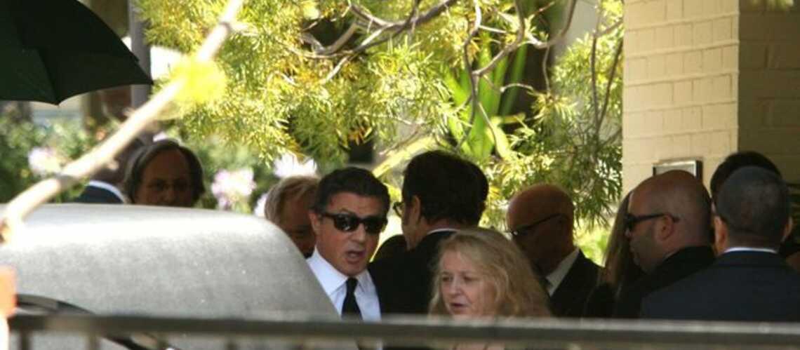 Sylvester Stallone a rendu un dernier hommage à son fils