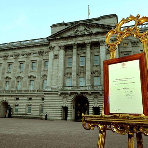 Photos: l'annonce de la naissance du Royal Baby Boy