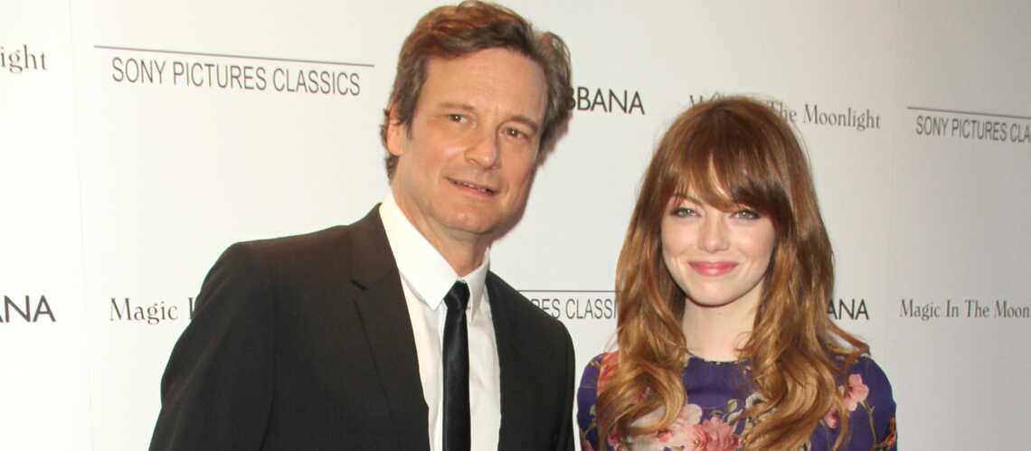 Emma Stone, la groupie de Colin Firth