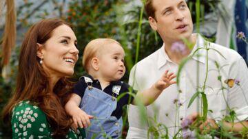 Prince George en famille: un portrait historique