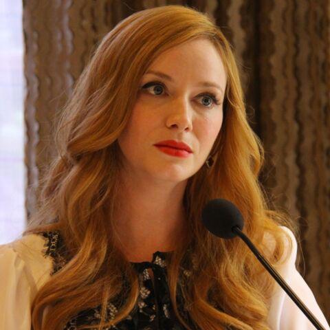 Christina Hendricks, vexée par Charlize Theron
