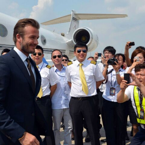 Photos- La tournée chinoise de David Beckham