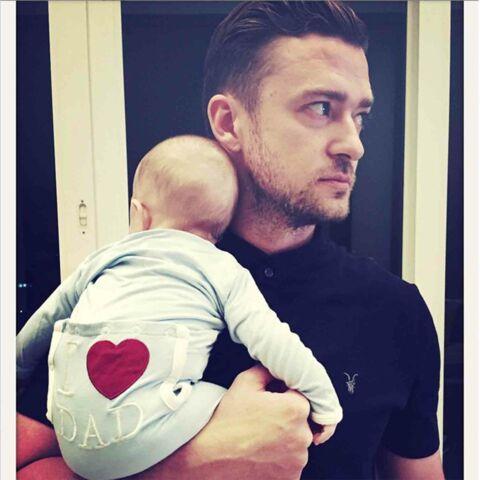 Justin Timberlake, passionné par son fils Silas