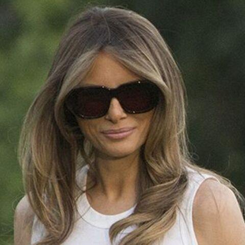 PHOTOS – Melania Trump pointée du doigt: contrairement à Michelle Obama, elle porte au quotidien des tenues aux prix mirobolants