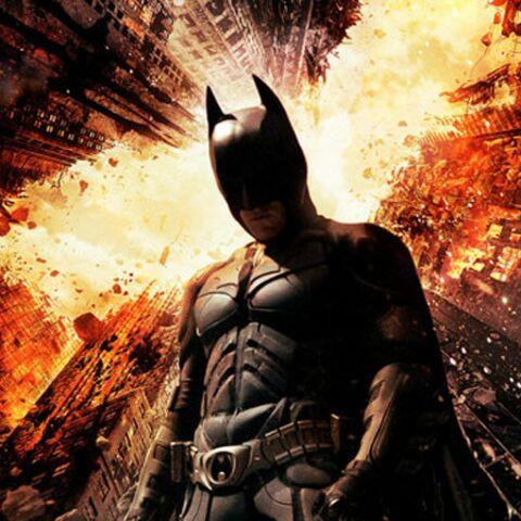 The Dark Knight Rises: une nouvelle affiche de feu