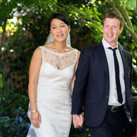 Priscilla Chan, une mariée couture