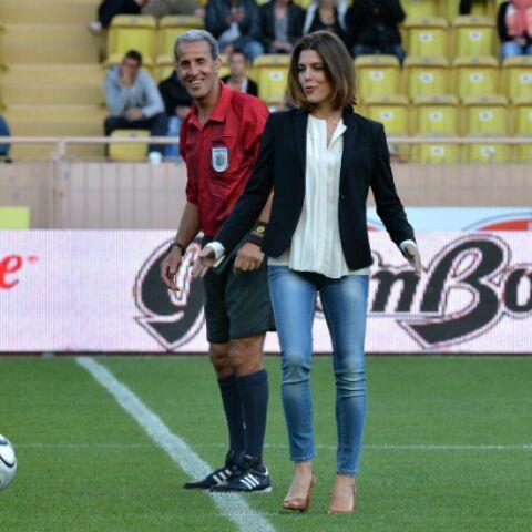 Photos- Charlotte Casiraghi tape le ballon pour la bonne cause