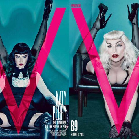 Katy Perry et Madonna: cuir, sexe et domination