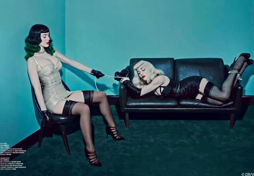 … plus que cette séance photo SM avec Katy Perry !