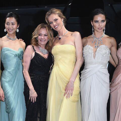 Eva Herzigova, Adrina Lima, Barbara Palvin… Les tops à l'assaut de Cannes