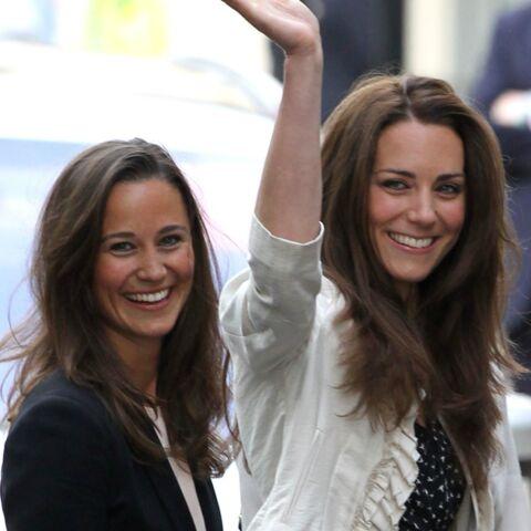 Pippa aux petits soins pour Kate Middleton