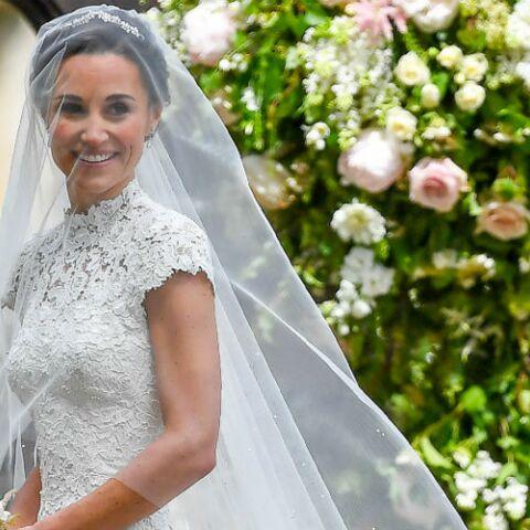 PHOTOS – La deuxième robe de mariée très sensuelle de Pippa Middleton