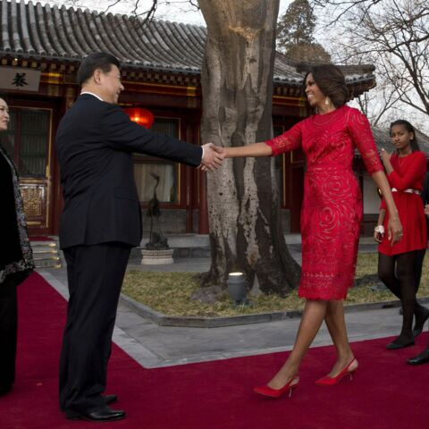 Photos- Michelle Obama et ses filles visitent la Chine, mais sans Barack