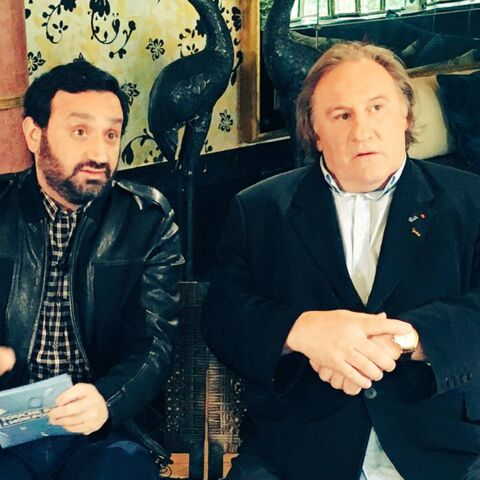 Gérard Depardieu accorde ses faveurs à Cyril Hanouna