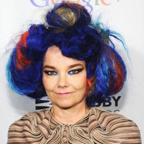 Björk a failli rester sans voix