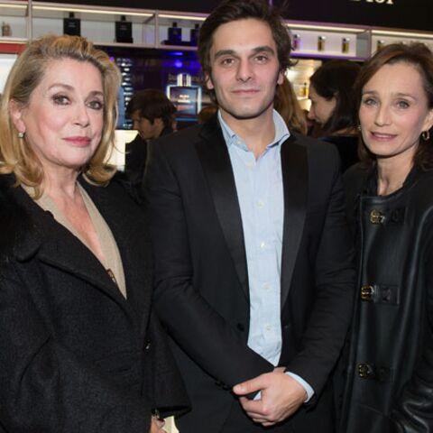 Gala By Night: Catherine Deneuve bien entourée chez Marionnaud