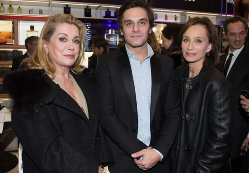 Catherine Deneuve, Pio Marmaï et Kristin Scott Thomas