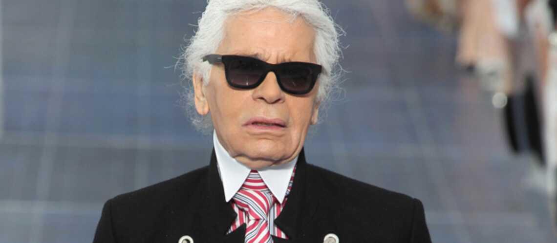 Karl Lagerfeld, le doigt sur la couture