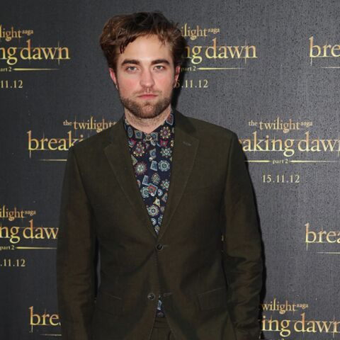T'as le look… Robert Pattinson!