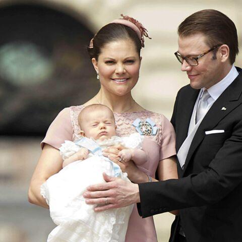 Photos – Victoria de Suède, Diana, Cristina, mamans chics pour baptiser leurs enfants