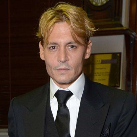 Johnny Depp, blond d'adoption