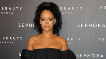PHOTOS – Rihanna sublime à Paris pour le lancement de Fenty Beauty