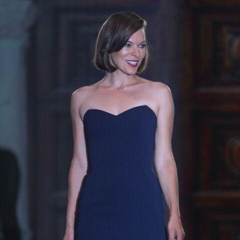 Milla Jovovich de retour sur les podiums