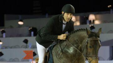 Nicolas Canteloup est vice-champion de France d'équitation