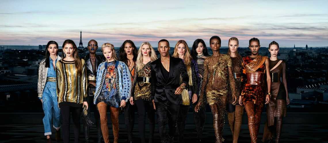 Maquillage: la collection capsule Balmain et l'Oréal Paris sort le 1er septembre