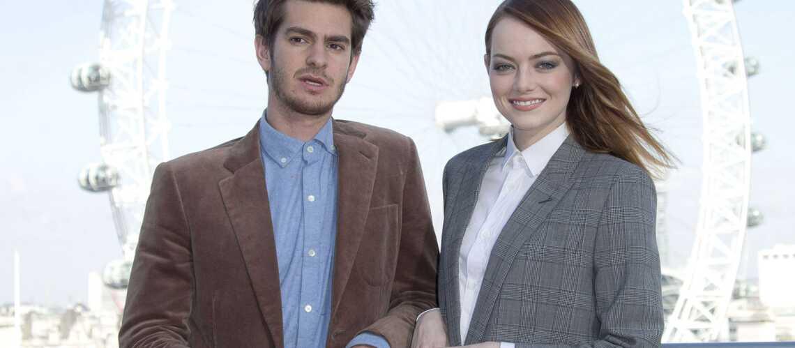 Andrew Garfield recadré par Emma Stone